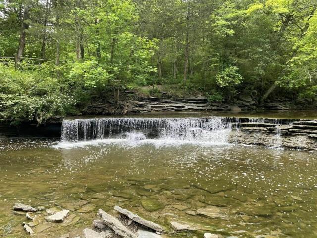 Horseshoe Falls à Caesar State Park